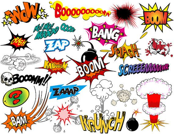 Saying pencil and in. Boom clipart pop art