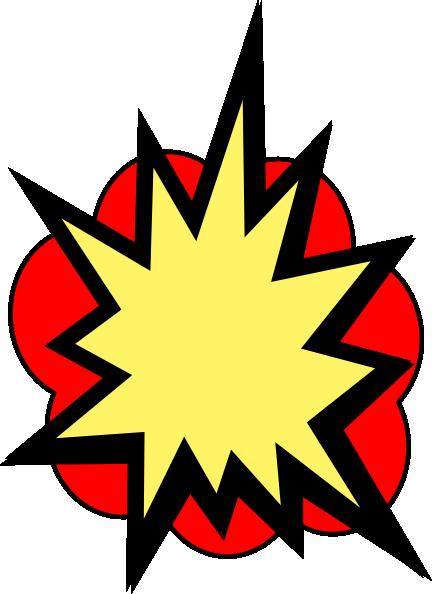 Clip art vector online. Boom clipart pow