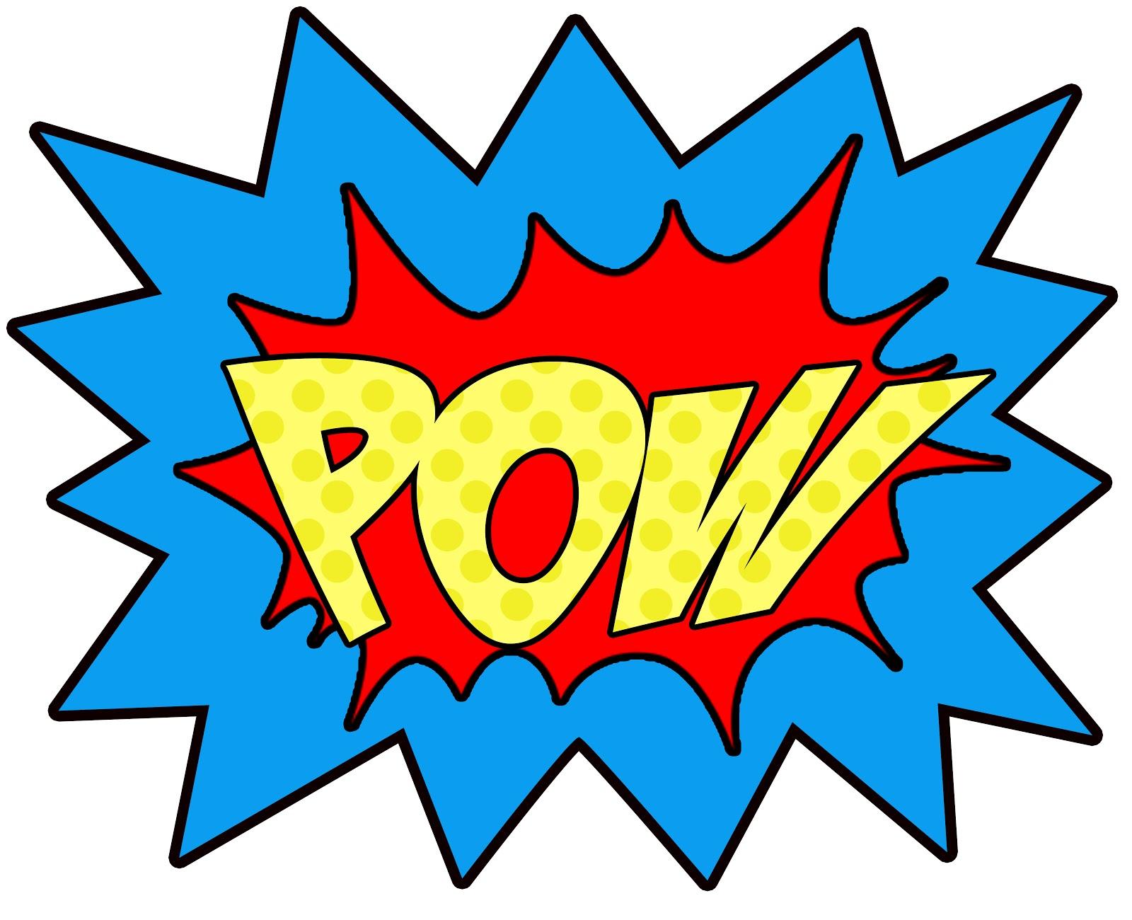 Boom clipart pow. Free bang cliparts download