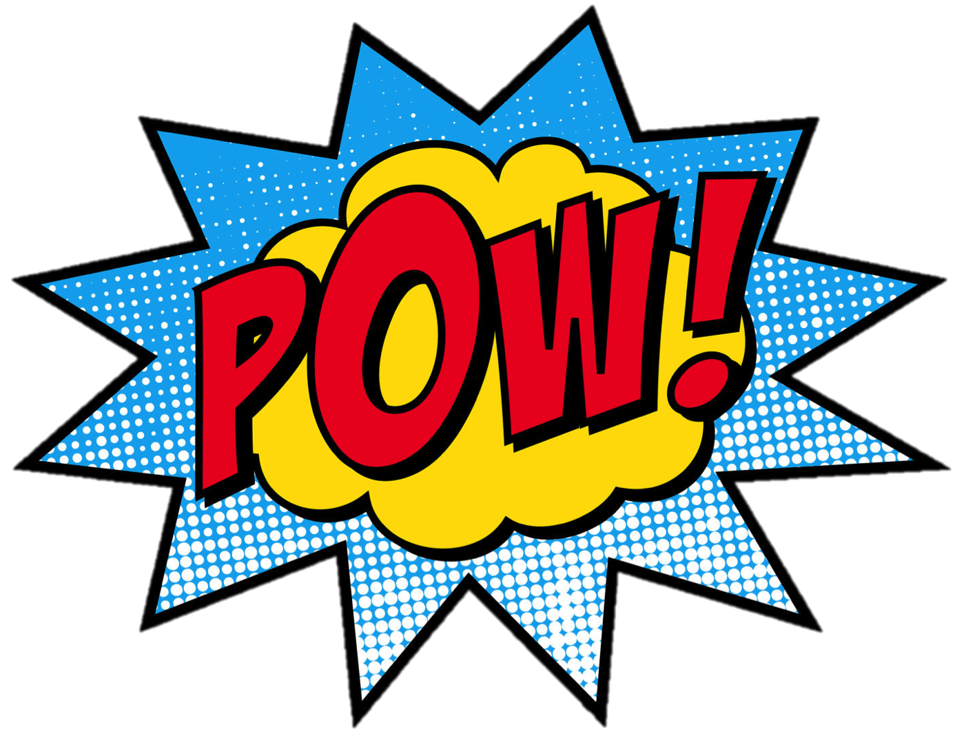 The power of words. Leader clipart superhero
