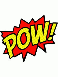 Pin on comic action. Boom clipart pow