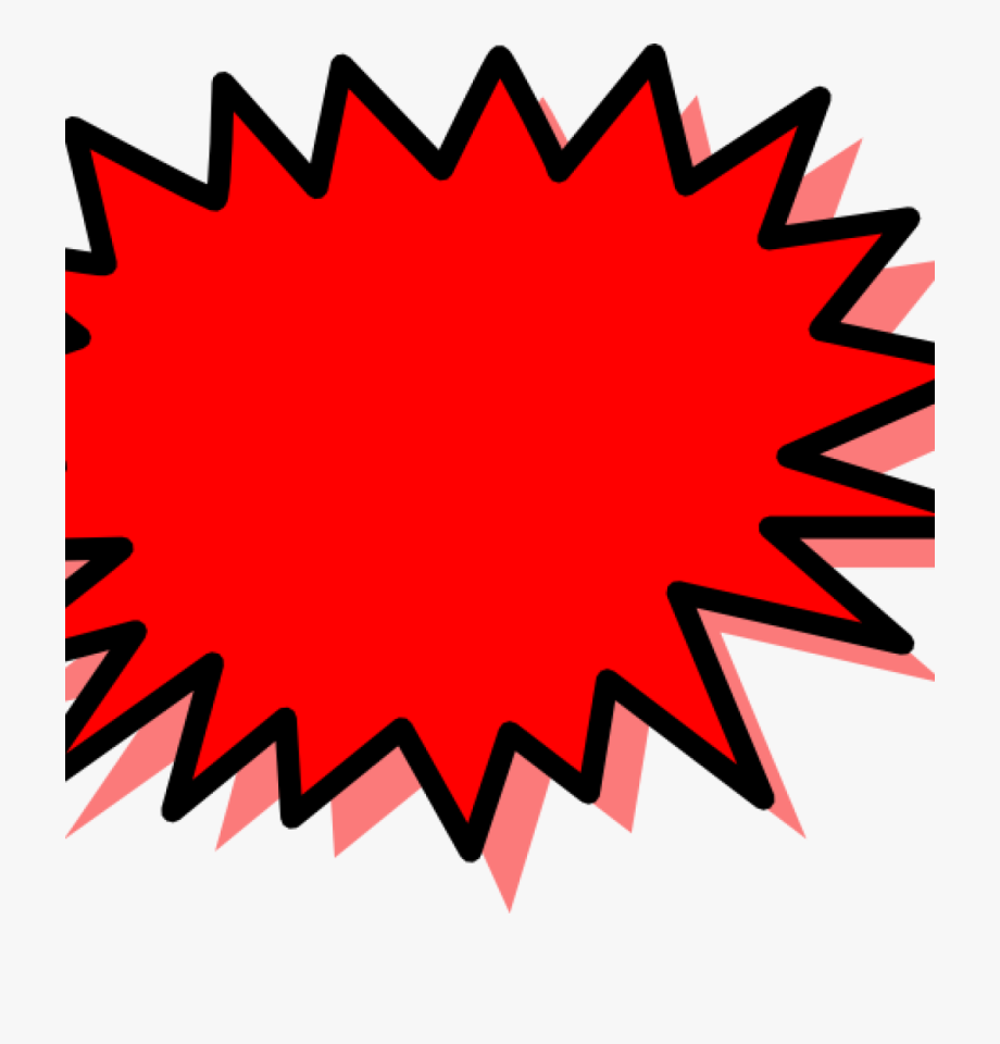 Burst clipart pow. Explosion boom png free