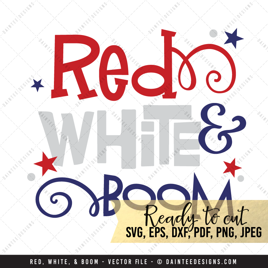 Boom clipart red. White svg dxf eps