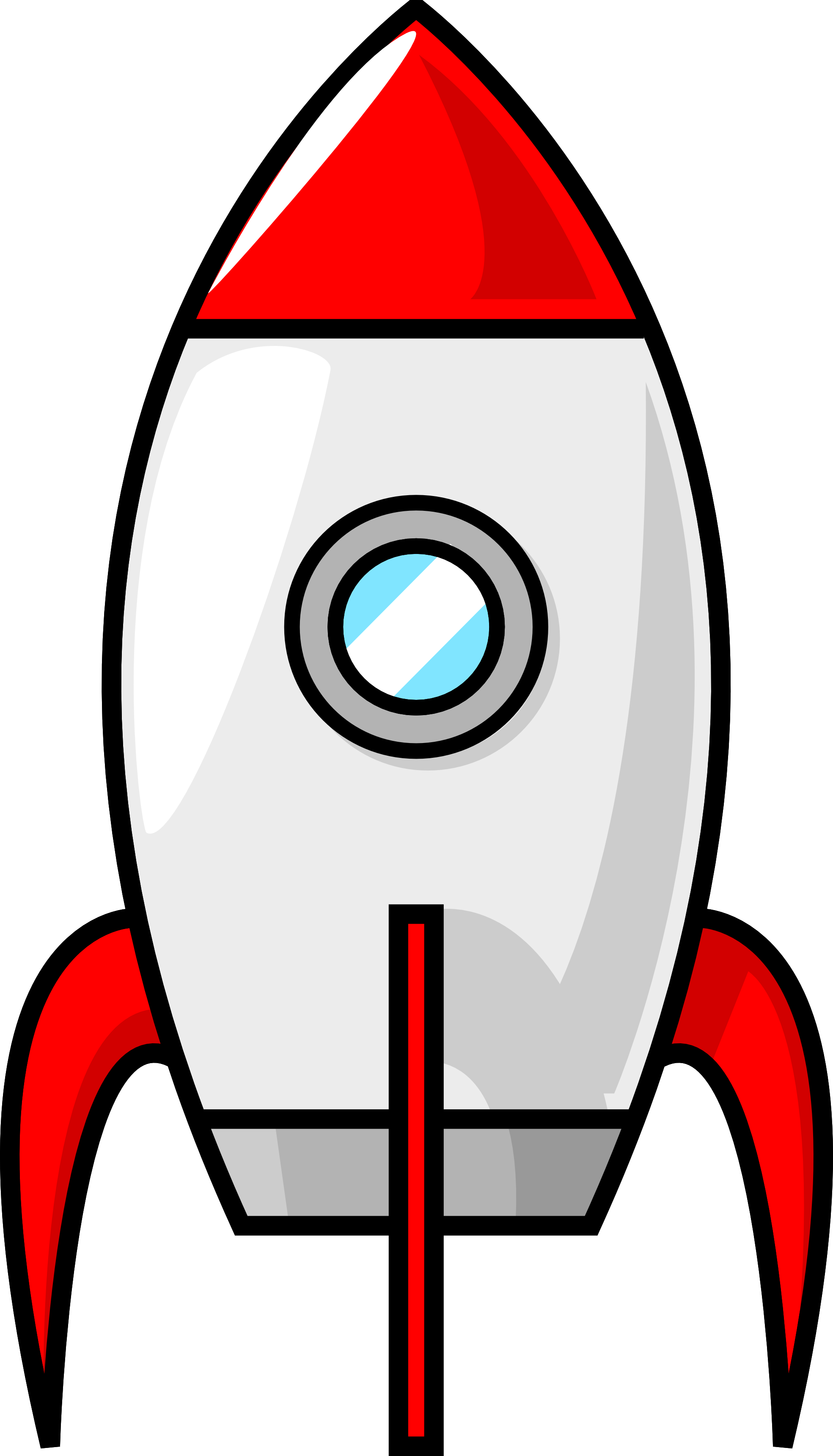 Spaceship clipart spacerocket. Rocket clip art pinterest