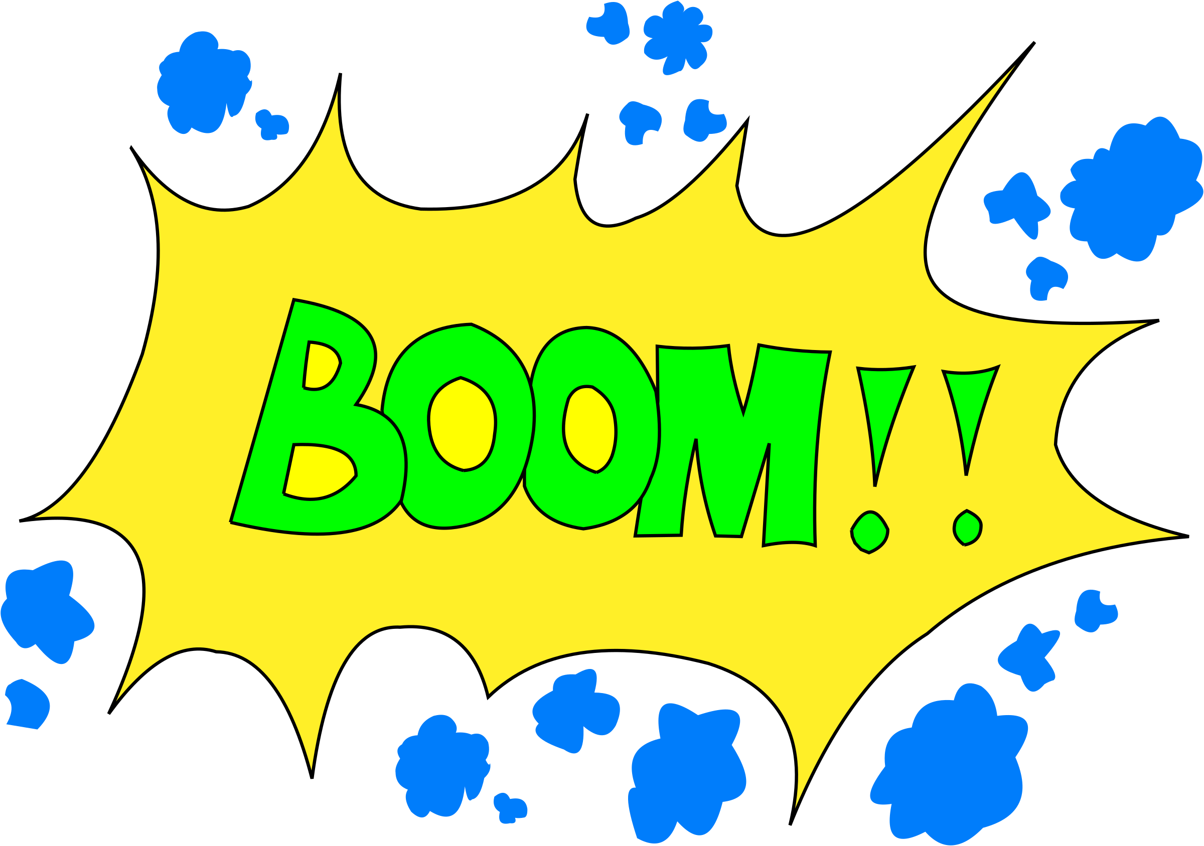 Boom big image png. Number 6 clipart bubble
