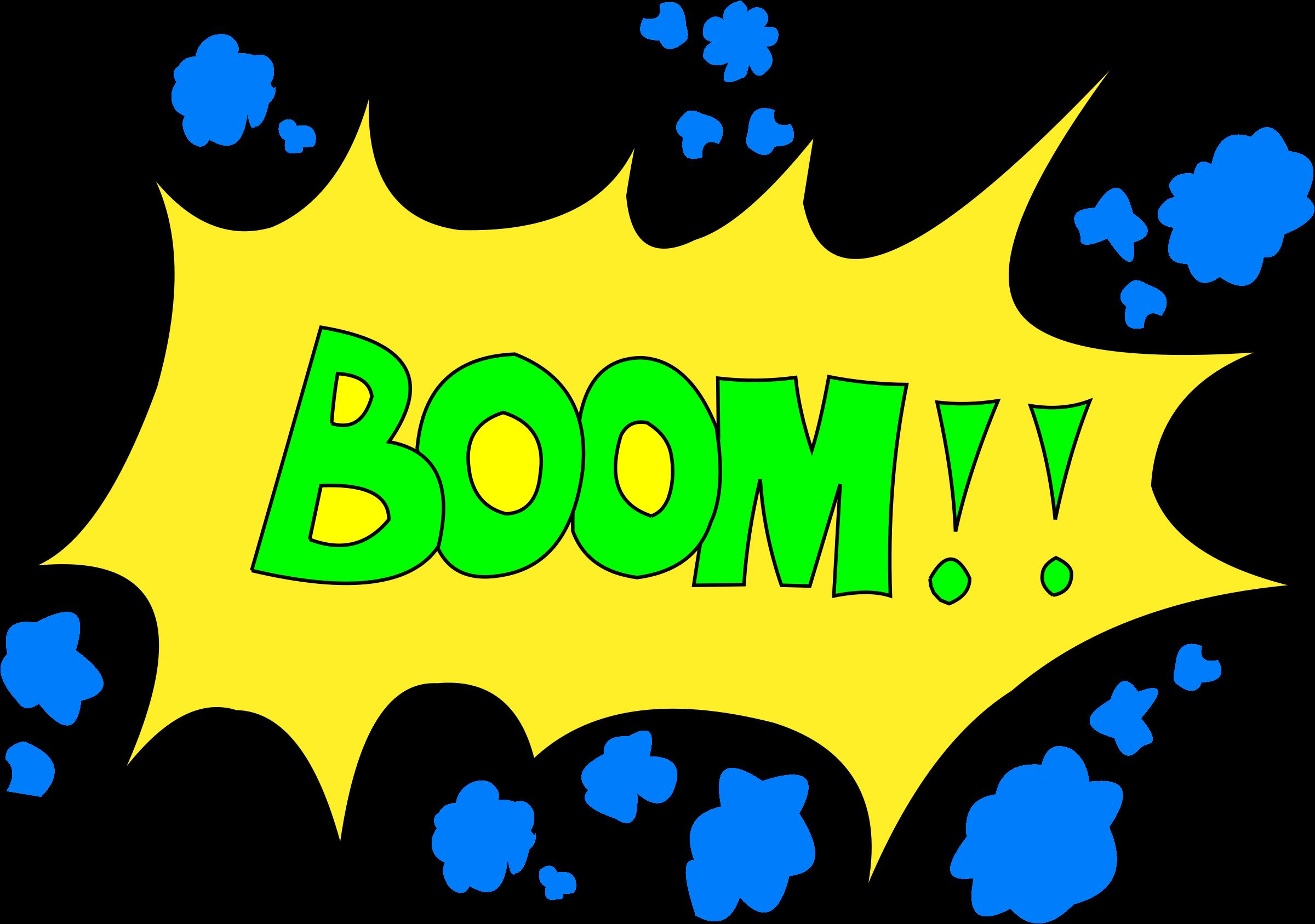 Boom clipart sign. Big image png