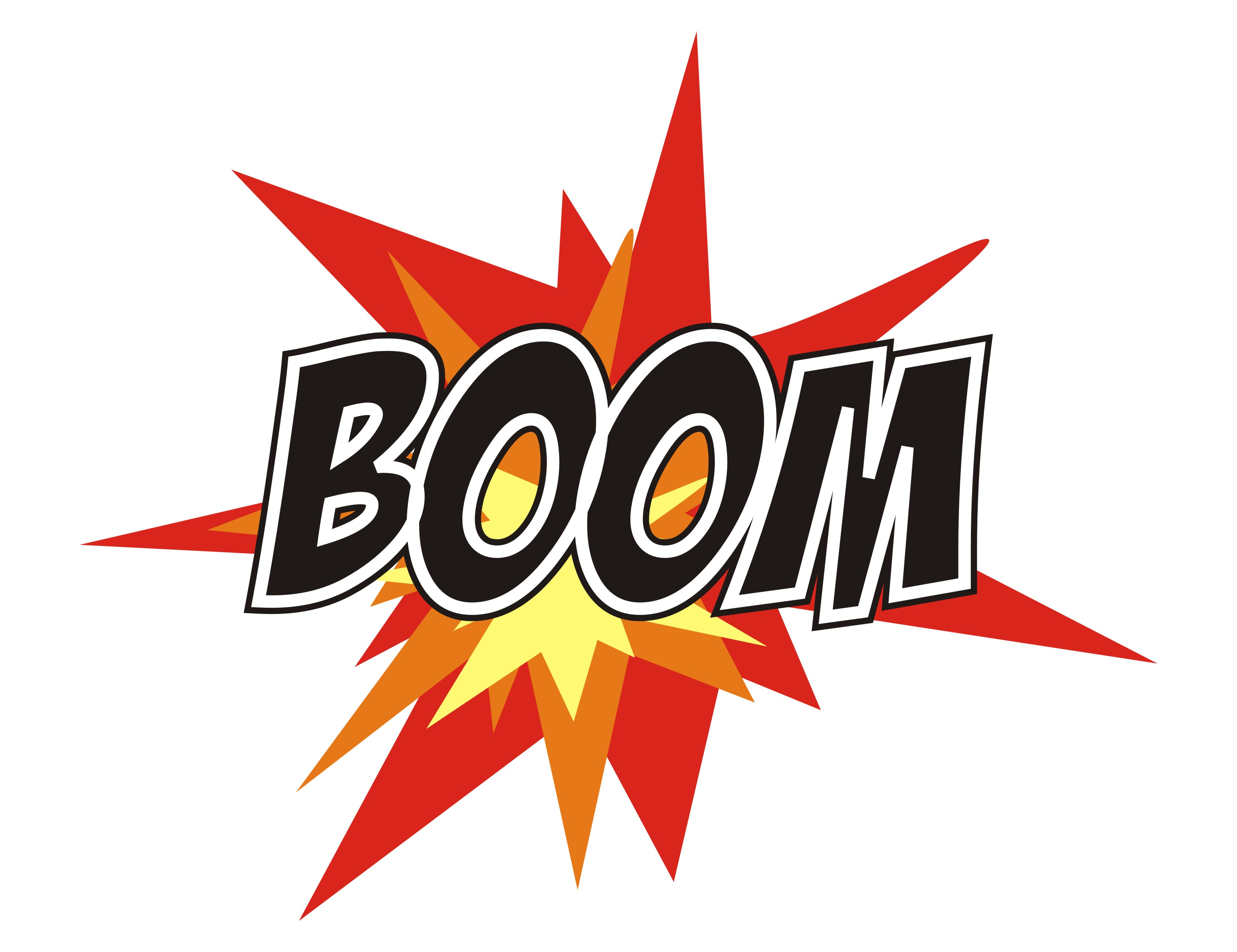 Free panda images. Boom clipart sign