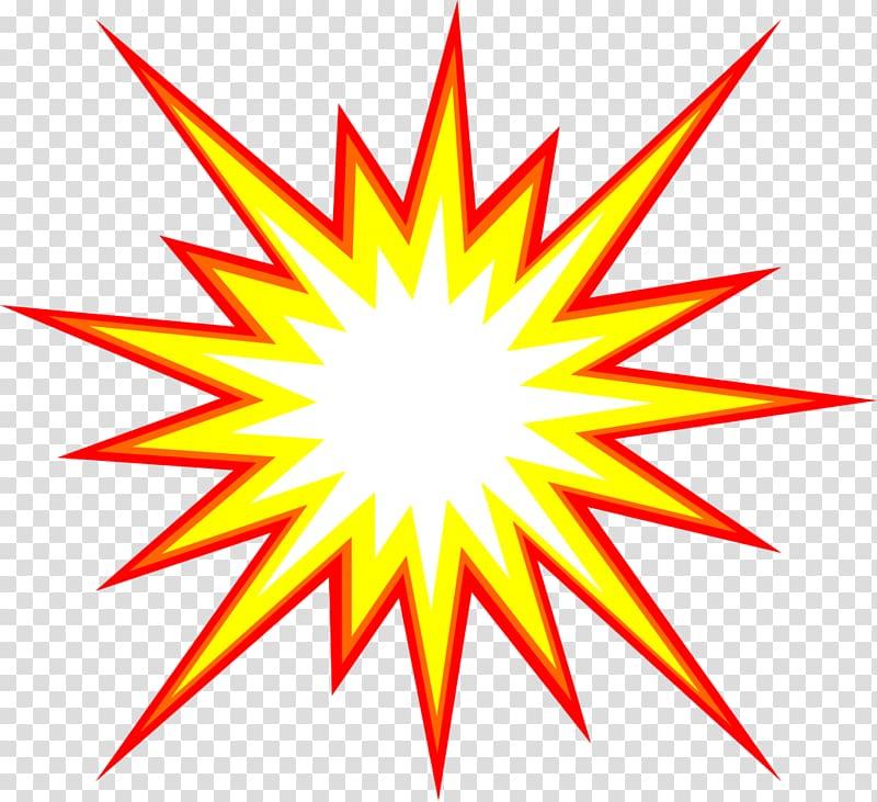 Red and white illustration. Explosion clipart starburst