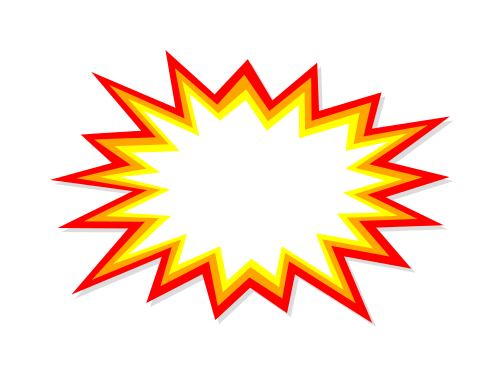 Vector eps svg png. Explosion clipart starburst