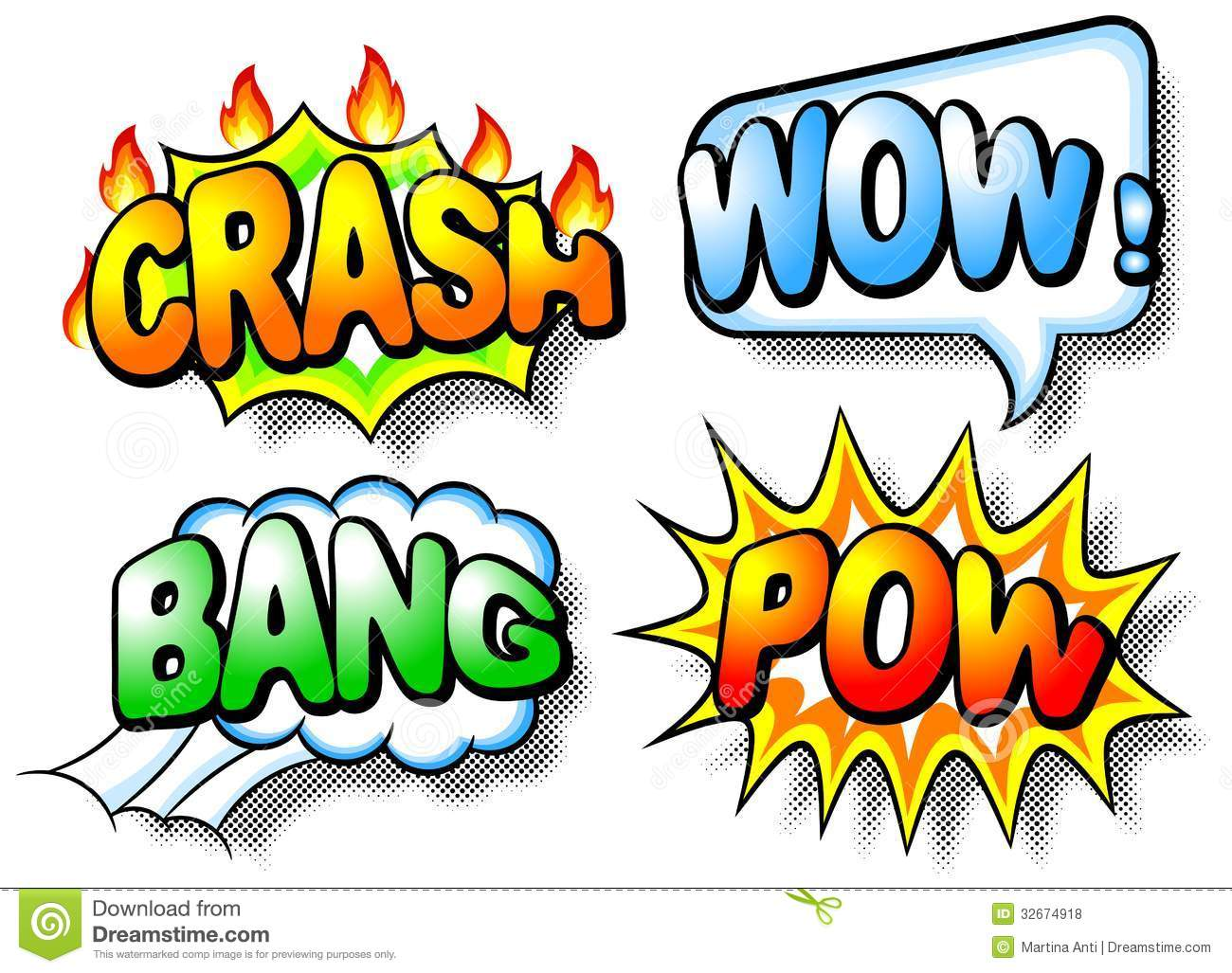 Boom clipart stock. Bang free download best