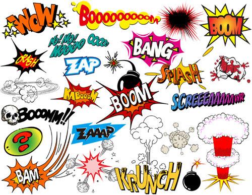 Boom clipart superheroclip. Instant download superhero clip