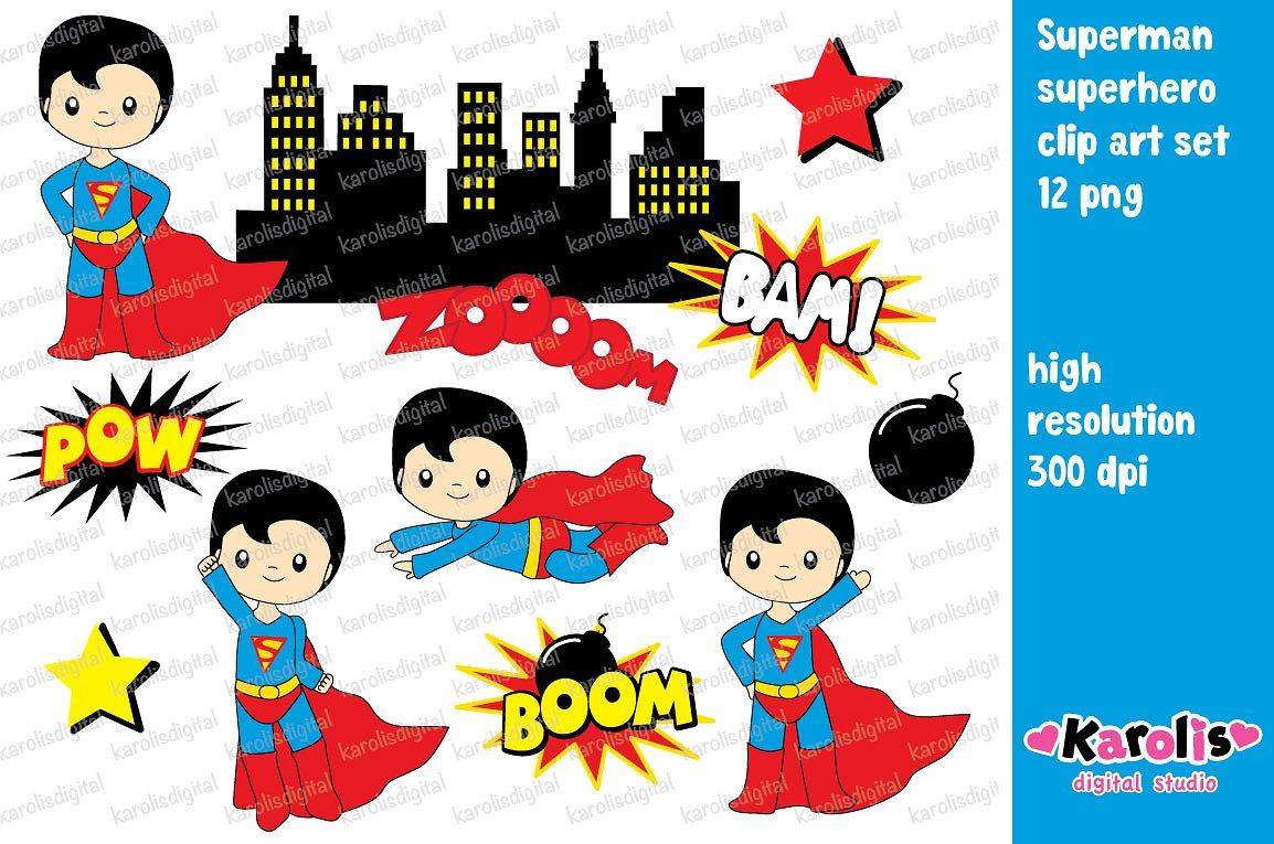 Boom superheroclip