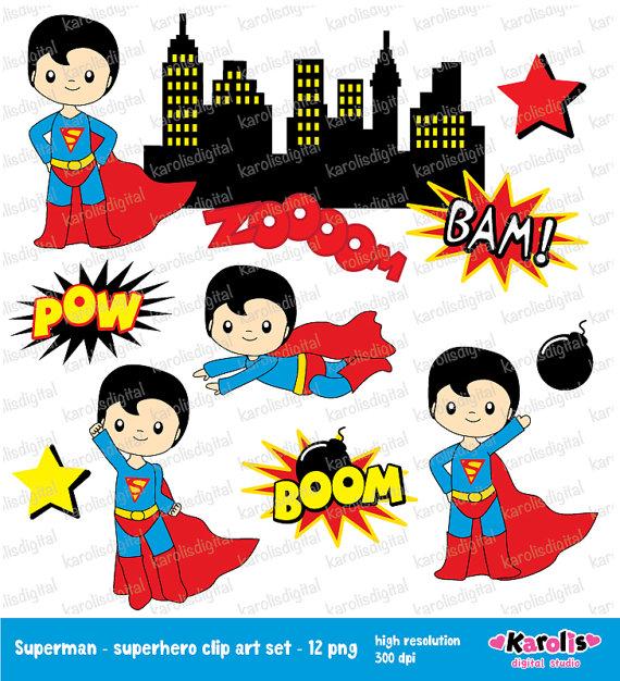 Superman superheroes clip art. Boom clipart superheroclip