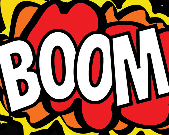 Boom clipart thunder. New columbia heights big