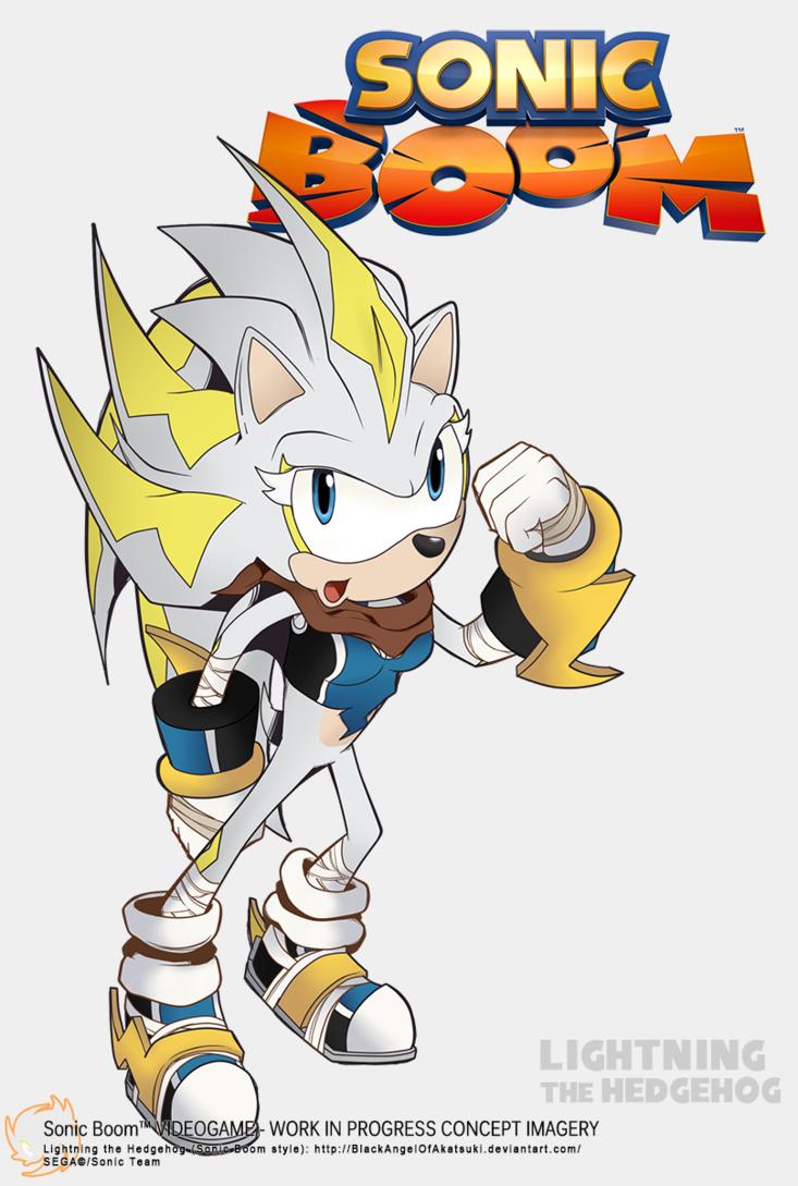 Boom clipart thunder. Sonic lightning the hedgehog