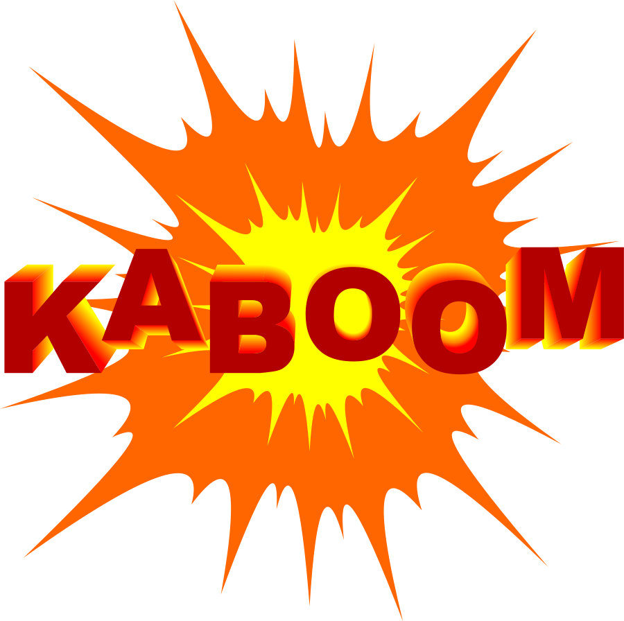 Clipart explosion. Boom transparent pencil and