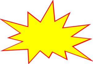 Boom clipart transparent background. Pencil and in color