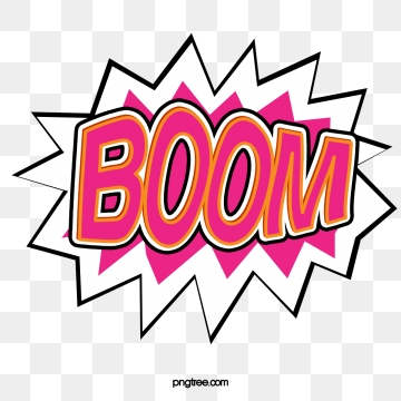 Boom clipart vector. Png psd and with