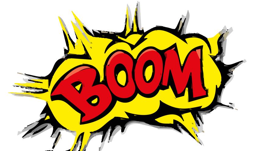 Boom clipart yellow. Cartoon background art
