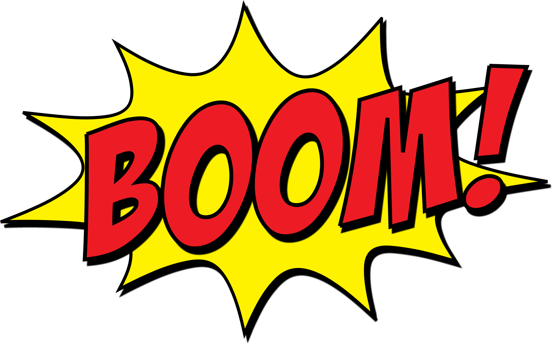 Boom clipart yellow. Big image png