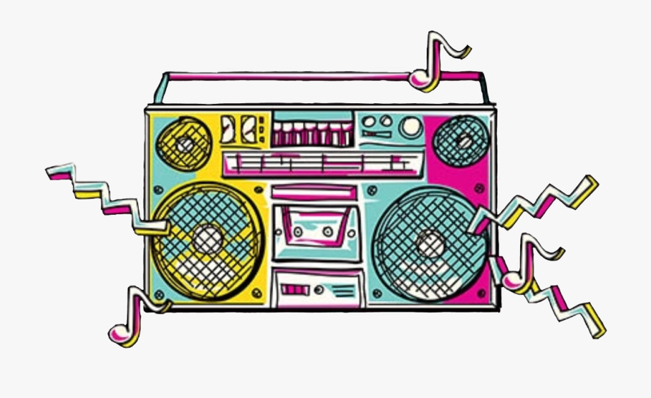 S freetoedit png free. Boombox clipart