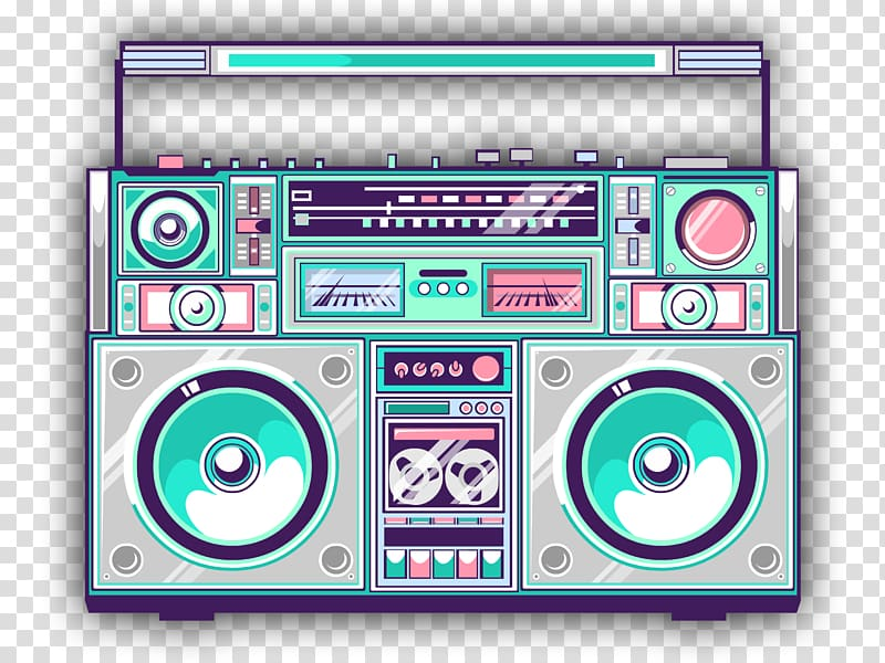 Boombox clipart. Art drawing others transparent