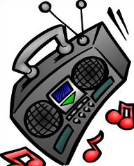 Boombox clipart. Free