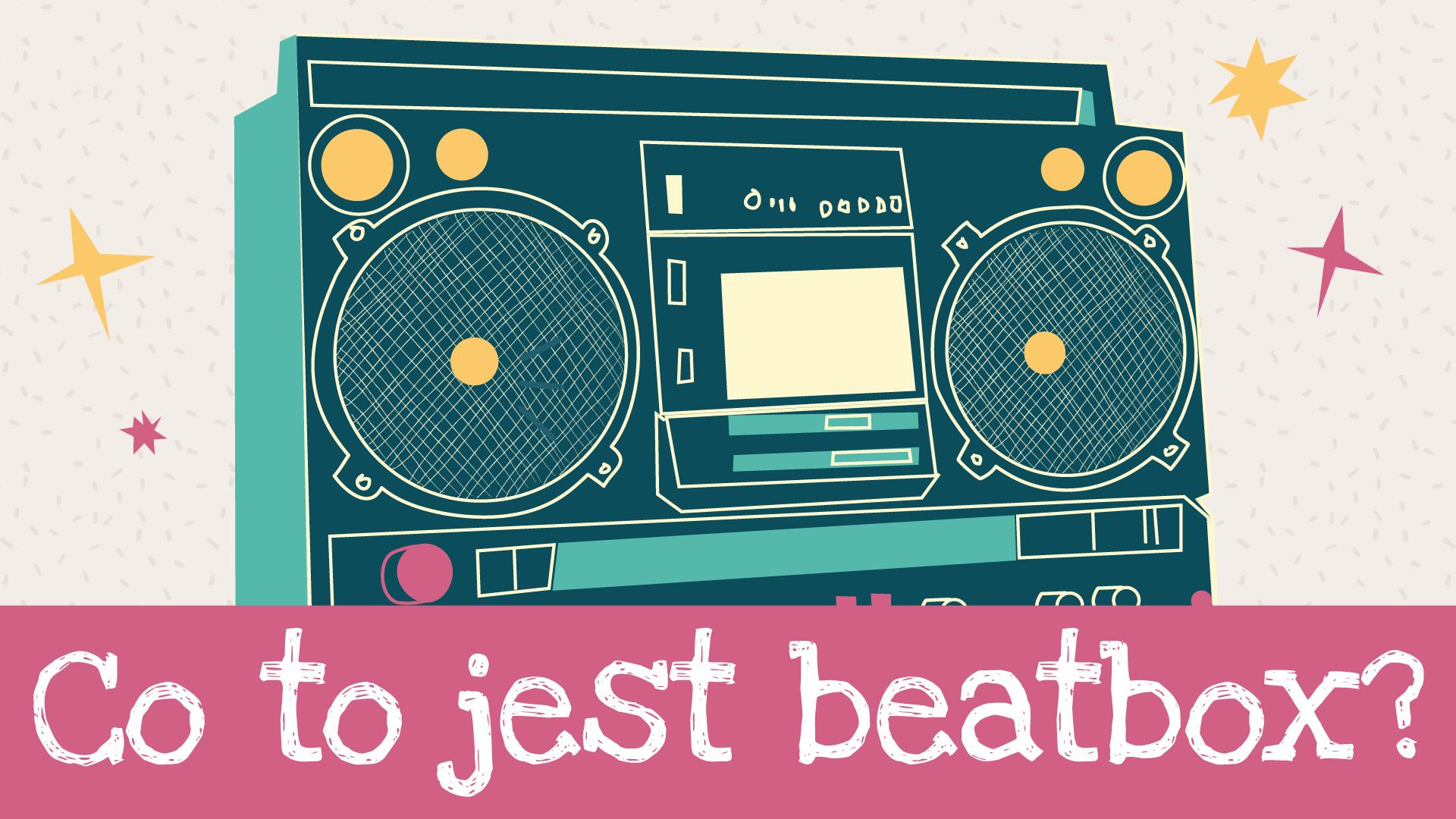 Boombox clipart beatbox. Video kids