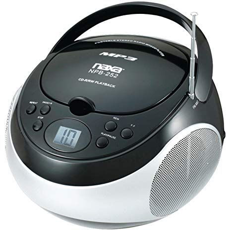 Amazon com naxa electronics. Boombox clipart cd player