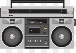 Boombox clipart classic. Free download golden age
