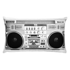 Graffiti drawings vintage illustration. Boombox clipart classic