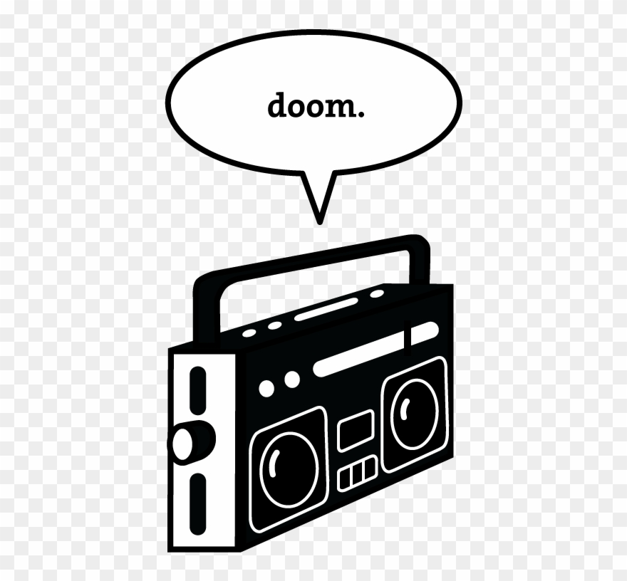 Royalty free stock png. Boombox clipart classic