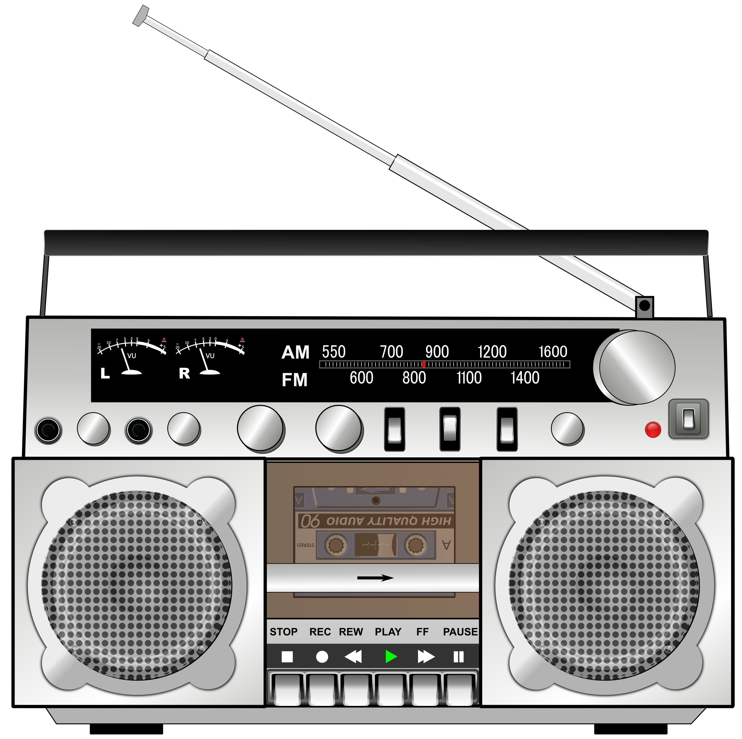 Boombox icons png free. Electronics clipart electronic media