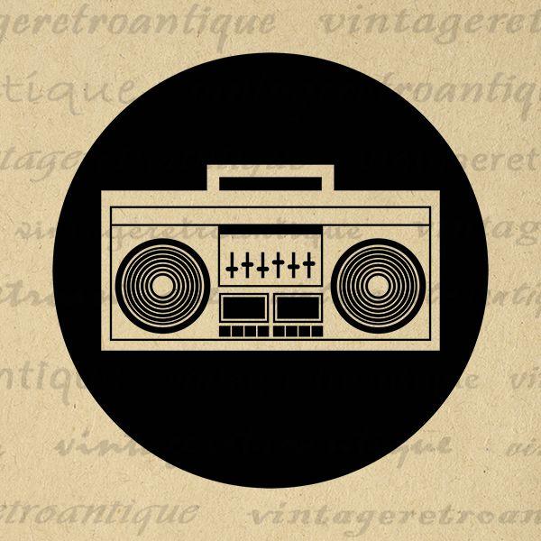 Boombox digital radio