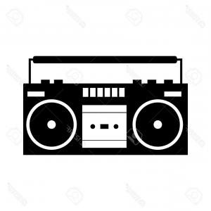 Boombox clipart draw. Drawing free download best