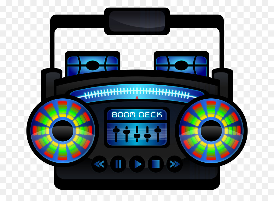 Boombox clipart music player.  s compact cassette