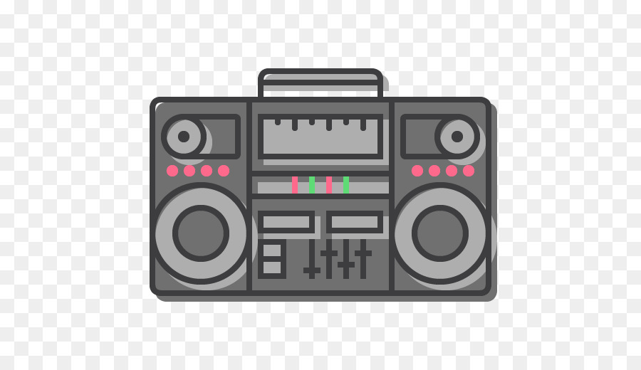 Boombox clipart radio music. Sound a png download