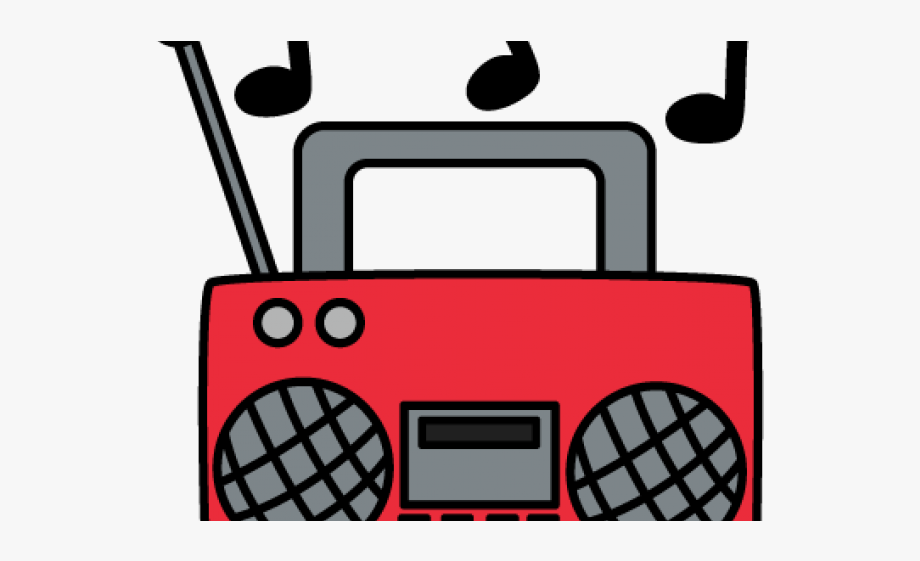 Boombox clipart radio music. Musical note cliparts