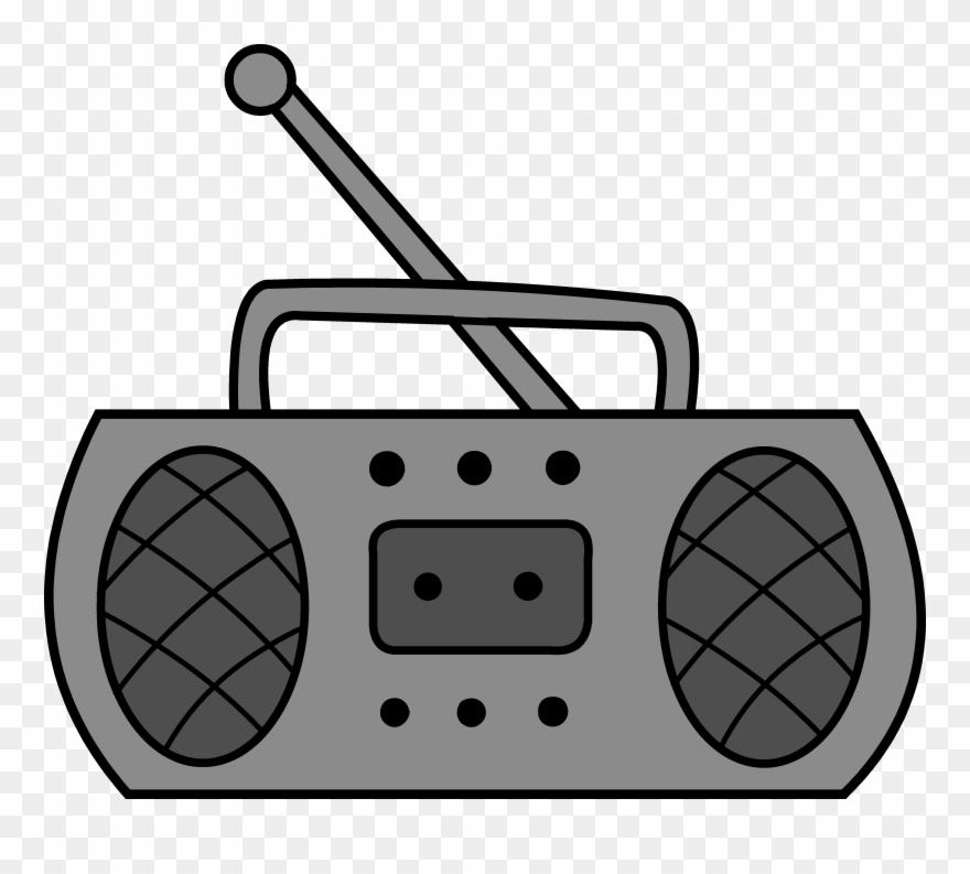 Cute design clip art. Boombox clipart radio music