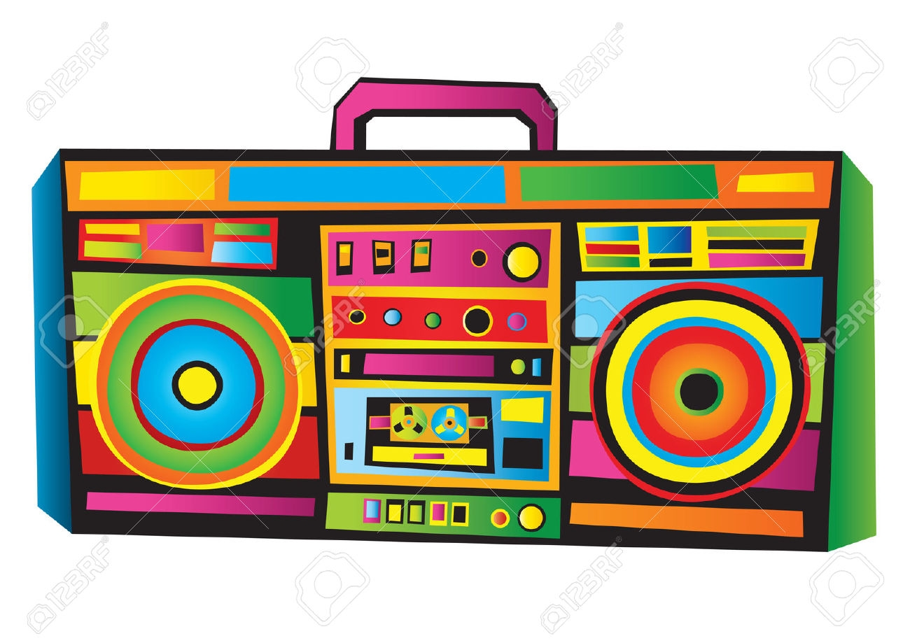 Fresh gallery digital collection. Boombox clipart retro