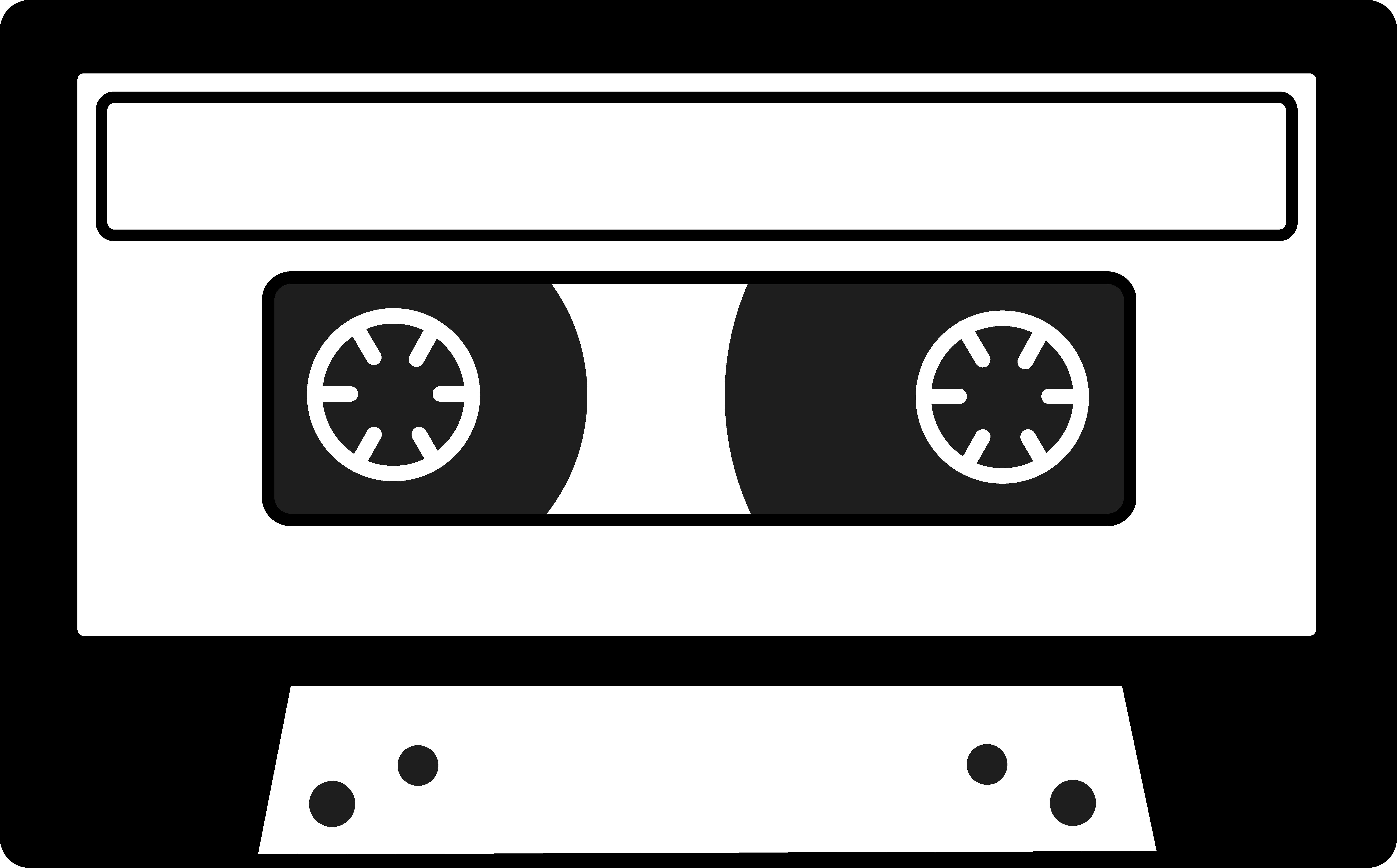 Boombox clipart silhouette. Cassette tape free clip
