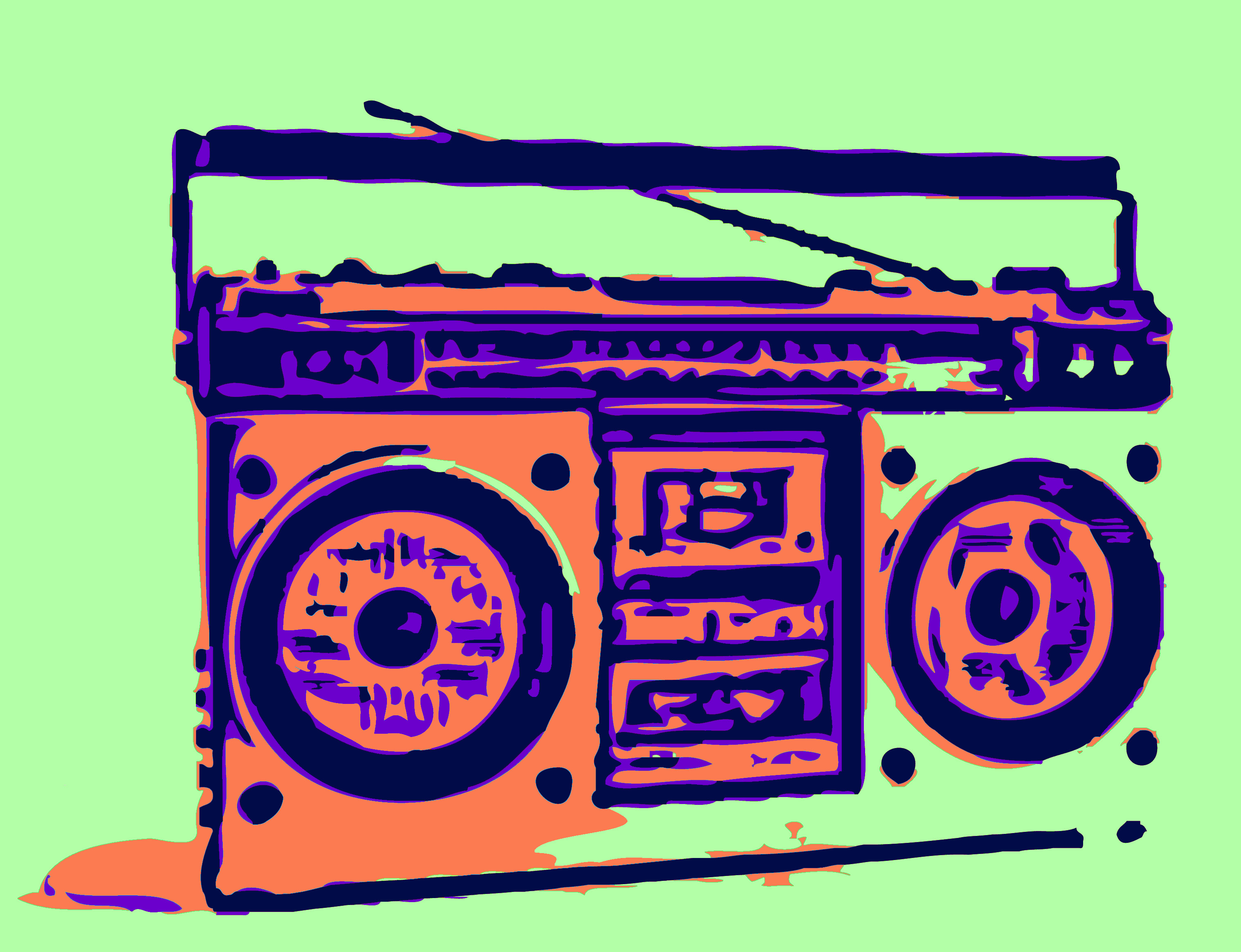 Boombox clipart simple. Free pictures download clip