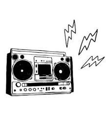Boombox clipart simple. Image result for drawing