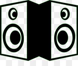 Speaker incep imagine ex. Boombox clipart stencil