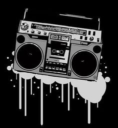 Cool shit pinterest stenciling. Boombox clipart stencil