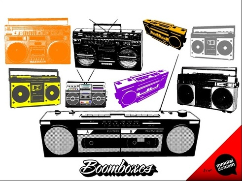 Free download for boomboxes. Boombox clipart vector