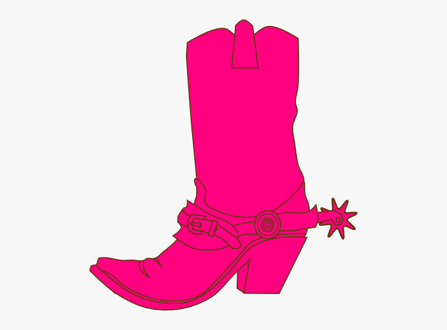 Hat and clip art. Cowgirl clipart brown cowboy boot