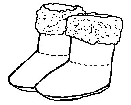 Boots station . Boot clipart black and white