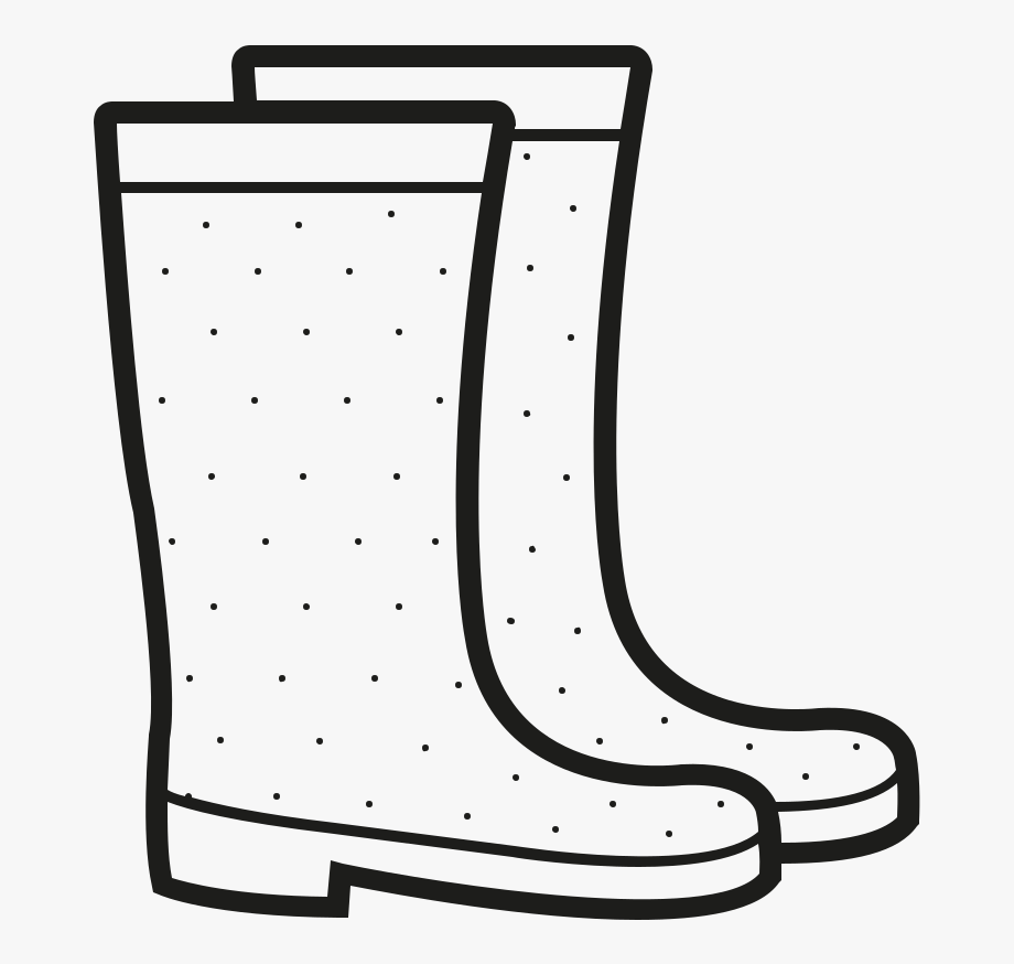Boot clipart black and white. Amazing rain bootsing page