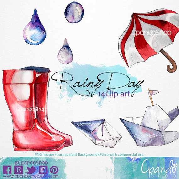 Rainy day paper boats. Boot clipart boat shoe